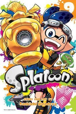 Splatoon, Vol. 9 by Sankichi Hinodeya