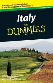 Italy For Dummies by Bruce Murphy image