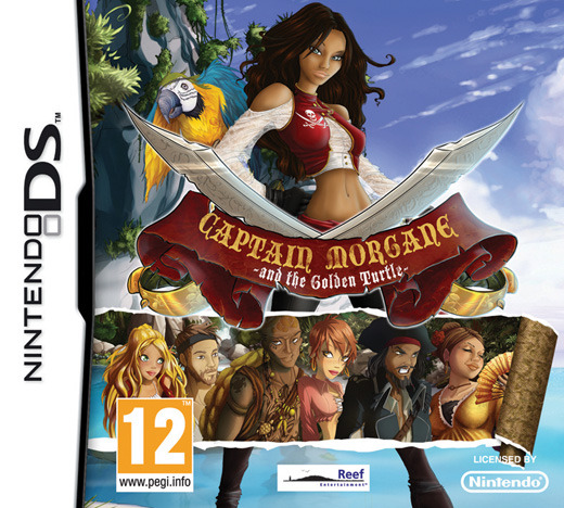 Captain Morgane and the Golden Turtle for Nintendo DS image