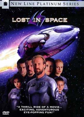 Lost In Space on DVD image