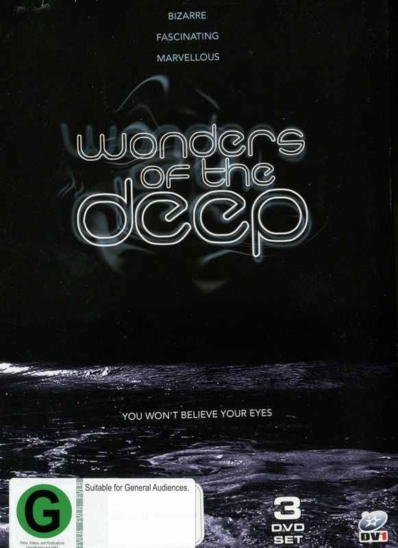 Wonders of the Deep (3 Disc Set) on DVD