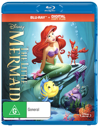 The Little Mermaid on Blu-ray