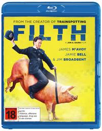 Filth on Blu-ray