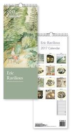 Museum & Galleries - Eric Ravilious Slim Calendar 2017