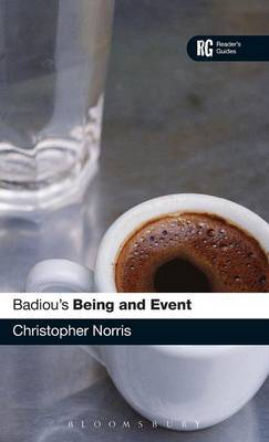 """Badiou's """"Being and Event"""" by Christopher Norris image"""