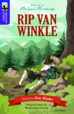 Oxford Reading Tree TreeTops Greatest Stories: Oxford Level 11: Rip Van Winkle by Jon Blake image