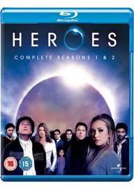Heroes - Complete Seasons 1 & 2 (9 Disc Box Set) on Blu-ray