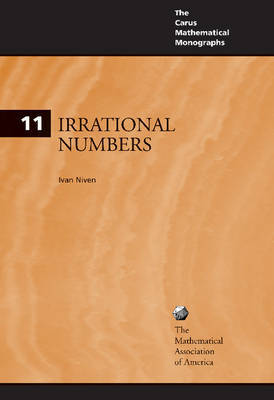 Irrational Numbers by Ivan Niven