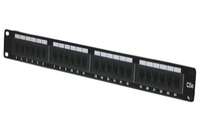 Digitus 24 Port Cat 5E Patch Panel, Unshielded, 19INCH image