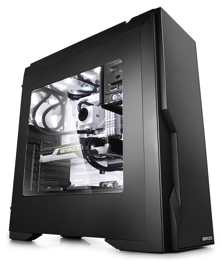 Deepcool: Dukase V3 Mid Tower Case - Black image