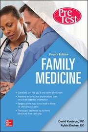 Family Medicine PreTest Self-Assessment And Review, Fourth Edition by Doug Knutson image