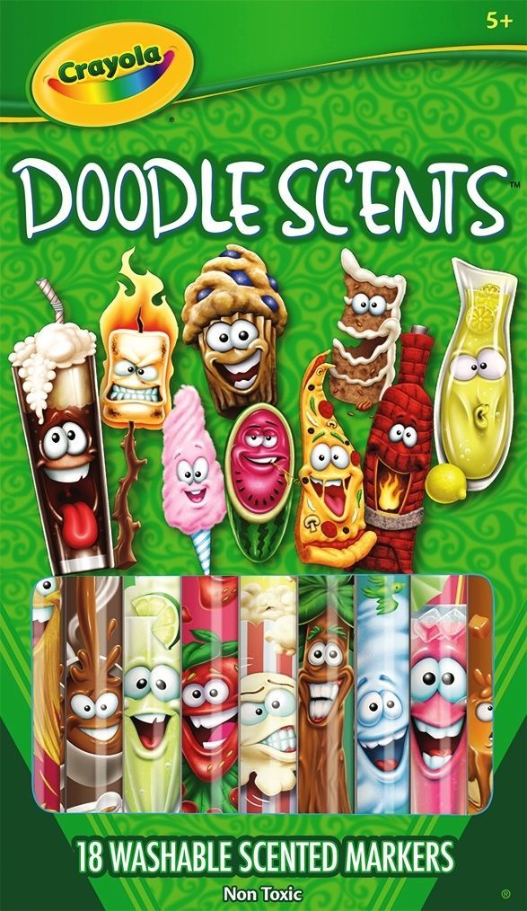 Crayola: Doodle Scents - Washable Marker Set (18-Pack) image