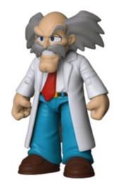 "Megaman: Dr Wily - 5"" Action Figure"