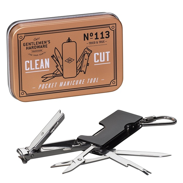 Gentlemen's Hardware: Pocket Manicure Tool