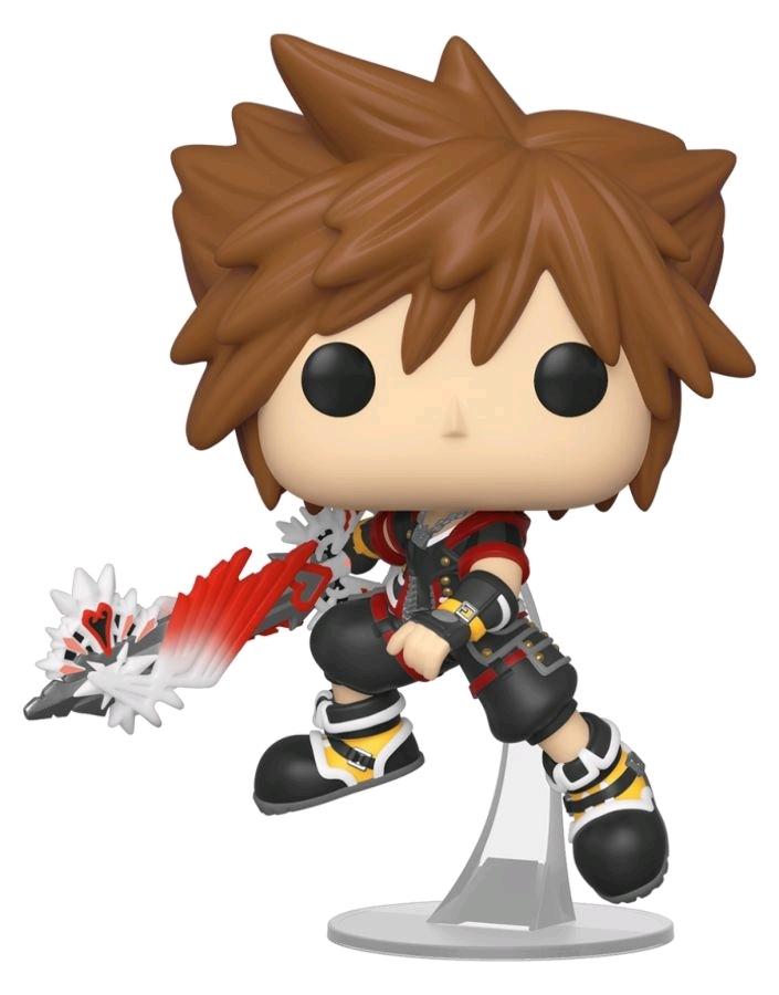 Kingdom Hearts III - Sora (with Ultima Weapon) Pop! Vinyl Figure image