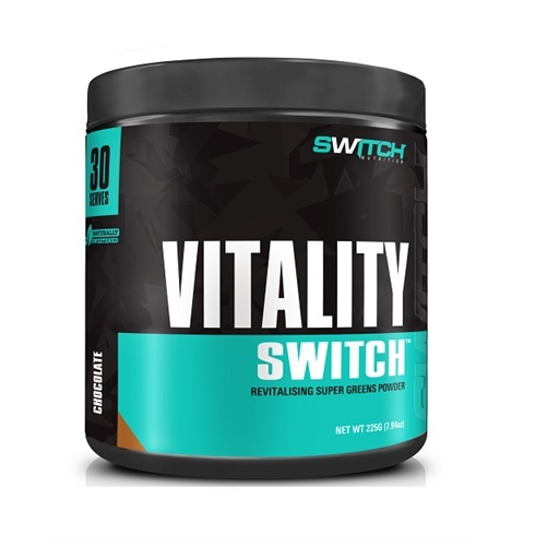 Vitality Switch - Revitalising Wholefood Green Juice - Chocolate (30 Serves)