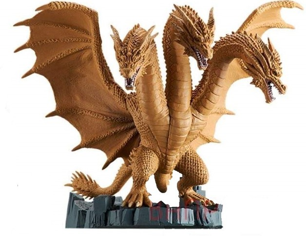 Godzilla: Ghidorah Deformed Figure