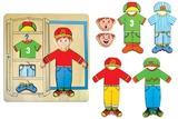 Fun Factory: Dress Up Puzzle Boy