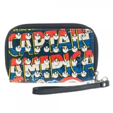 Marvel Captain America Studded Zip Wallet