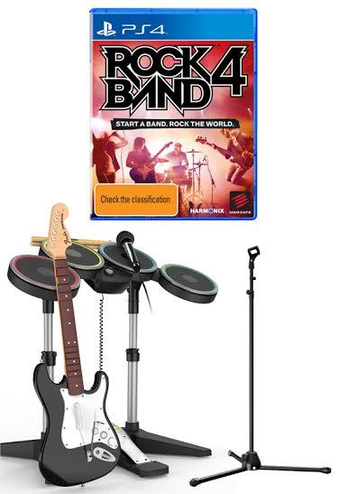 Rock Band 4 Band in a Box Bundle | PS4 | Buy Now | at Mighty
