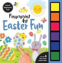 Fingerprint Art Easter Fun image