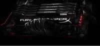 8GB Kingston HyperX Fury 2400Mhz DDR4 CL15 Dimm Single - Black image