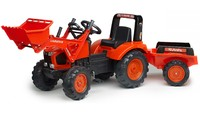 Kubota: M135GX Front Loader with Trailer image