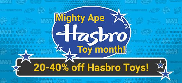 20-40% off Hasbro Toys!