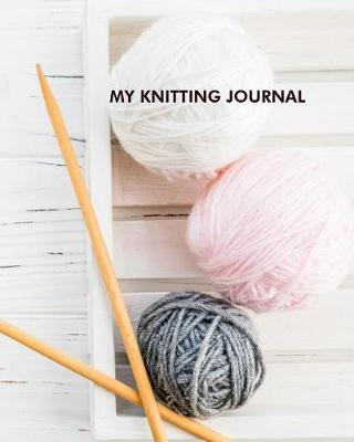 My knitting journal by Maggie Clementine