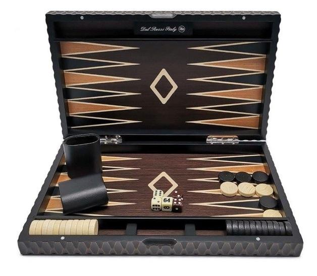 "Dal Rossi: European Style - Backgammon Set (15"")"