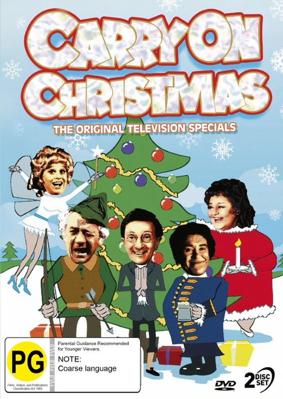 Carry On Christmas - The Original TV Specials on DVD