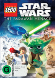 Lego Star Wars: The Padawan Menace on DVD