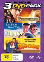 Peter Pan (2003) / Flipper / Borrowers - Kids 3 DVD Pack (3 Disc Set) on DVD