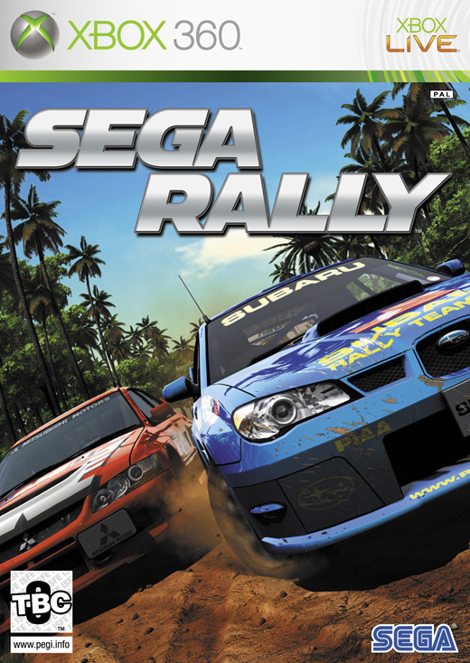 Sega Rally (ex display) for Xbox 360
