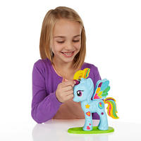 Play-Doh: My Little Pony Rainbow Dash Style Salon