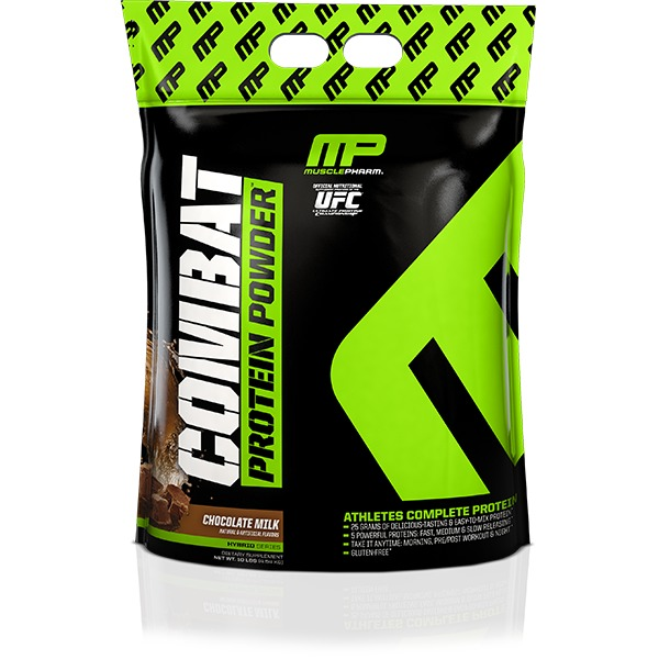 MusclePharm Combat - Chocolate Milk (4.53kg) image