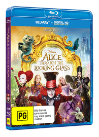 Alice Through the Looking Glass on Blu-ray image