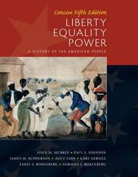 Liberty, Equality, Power: Concise by Norman Rosenberg image