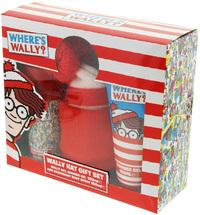 Where's Wally - Bath Gel/Beanie/Deodorant Set