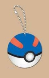 Pokemon: Mochi-Mochi Mascot Charm (Great-Ball)