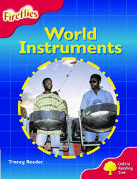 Oxford Reading Tree: Stage 4: Fireflies: World Instruments by Tracey Reeder image