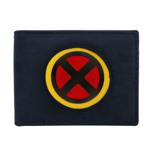Marvel: X-Men Logo - Bi-Fold Wallet (Navy/Yellow)