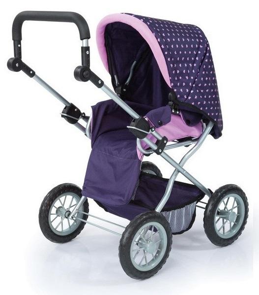 Bayer: Combi Grande Doll's Pram - Purple image