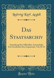 Das Staatsarchiv by Ludwig Karl Aegidi image