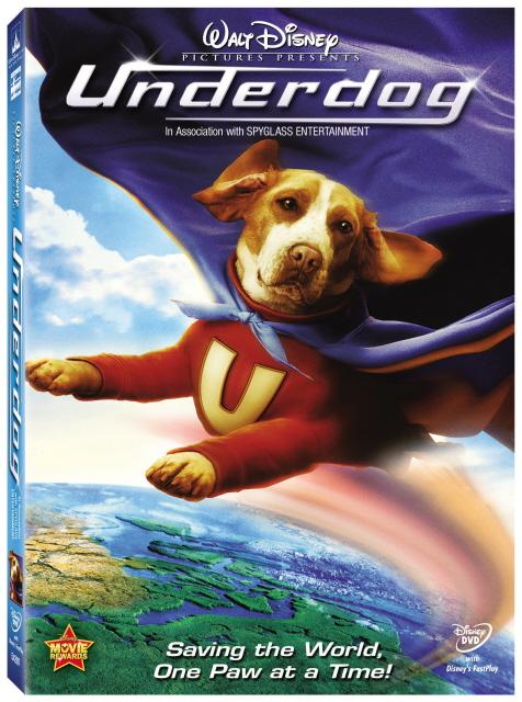 Underdog on DVD image