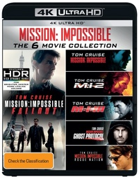 Mission Impossible 1-6 Movie Collection on UHD Blu-ray