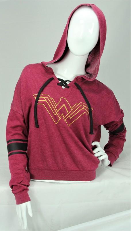 DC Comics: Wonder Woman - Lace-Up Hoodie (Medium)