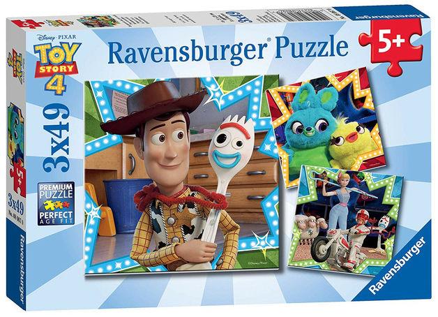 Ravensburger: 3x49 Piece Puzzle Set - Toy Story 4