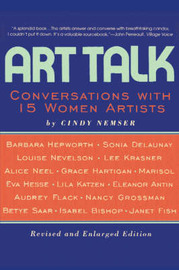Art Talk: Conversations with 15 Women Artists by Cindy Nemser image