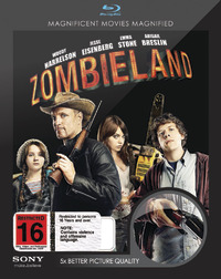 Zombieland on Blu-ray